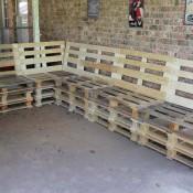 Loungeset bouwtekening om zelf te maken van pallets - Hoe om te beseffen een tuin ...