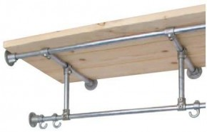 Kapstok maken steigerbuis en steigerhout bouwtekening - Hoogslaper met geintegreerde garderobe ...