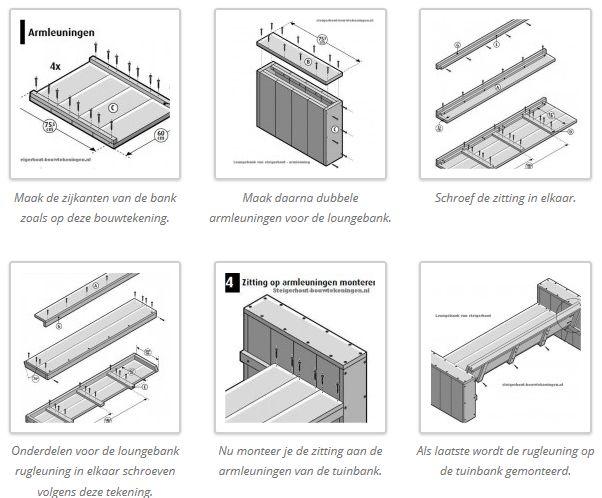 Klik de bouwtekening voor een gedetailleerde beschrijving van elle ...