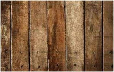 Nieuw steigerhout beitsen
