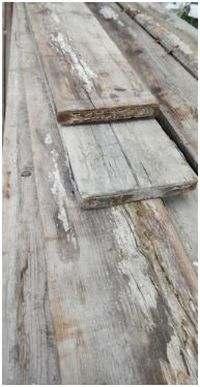 Verschillende soorten steigerhout