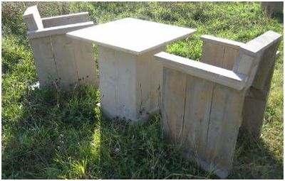 Tuinstoel bouwen van steigerhout gratis bouwtekeningen for Zelf tuintafel maken van steigerhout