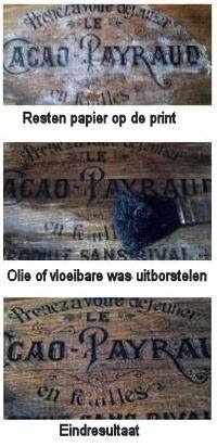 Vernis verwijderen van hout
