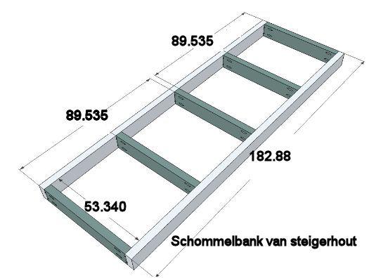 Luxe Schommelbank Hout.Bouwtekening Voor Een Tuinschommel Van Steigerhout