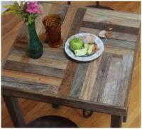 Tafels zelf maken van steigerplanken of pallets for Tafelblad steigerhout maken