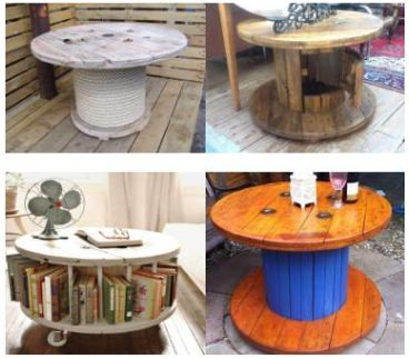 Tafels zelf maken van steigerplanken of pallets for Zelf tafel maken hout