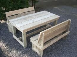 Bank van steigerhout zelf maken gratis bouwtekening - Bank terras hout ...