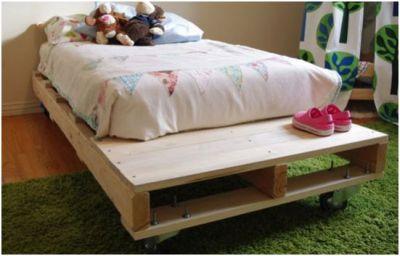 Zelf een houten bed maken