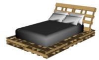 Gratis bouwtekeningen voor steigerhout meubilair.