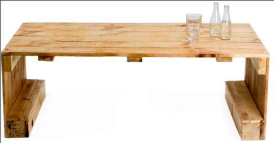 Tafel zelf maken van pallets en steigerhout for Pallet tafel zelf maken
