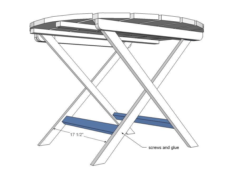 Ronde Inklapbare Houten Tafel.Bouwtekeningen Ronde Picknicktafel Zelf Maken