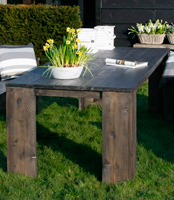Steigerhout tafels bouwtekeningen en beschrijving hoe je for Tafel van steigerplanken