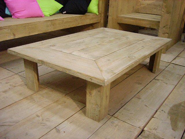 Steigerhout tafels bouwtekeningen en beschrijving hoe je for Stijgerhout tafel