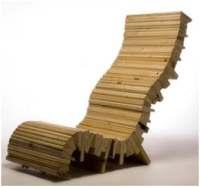 Recycling van oud hout en schroot tot meubilair - Tuinmeubelen ontwerp ...