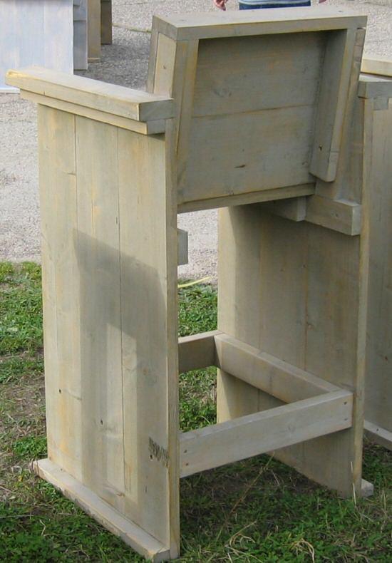 Steigerhouten meubelen zelf gemaakt met onze bouwtekeningen share the knownledge - Exotisch onder wastafel houten meubilair ...