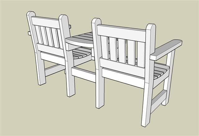 Tuinbanken om zelf te maken for Zelf tafel maken hout