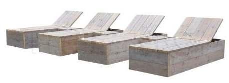 Degelijk tuinbed om zelf te maken van steigerhout.
