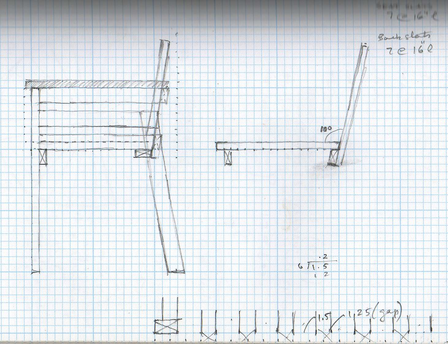Maak een tuinstoel van pallets met deze bouwtekeningen en dhz voorbeelden