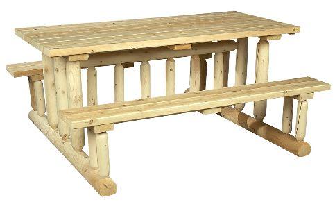 Picknicktafels en tuintafels om aan te eten for Zelf tuintafel maken van steigerhout