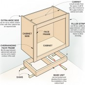 Engelstalige handleiding om een kast van pallets te maken.