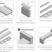 Maak de loungebank zelf van steigerhout met dit stappenplan op bouwtekening.