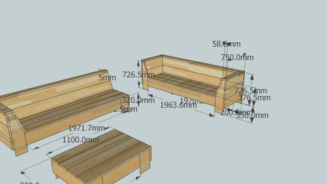Keuken Planken Gamma : Tuinmeubelen Steigerhout Plan