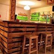 Goedkope houten tafel