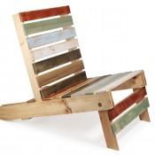 Pallet tuinstoel, deze stoelen kun je gemakkelijk zelf maken.