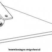 Maak een gordijnroede van steigerbuis aan het kozijn vast of schroef de roede aan het plafond.
