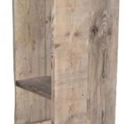 Maak zelf deze eenvoudige barkruk van oud steigerhout of nieuwe steigerplanken uit de bouwmarkt.