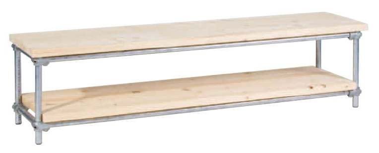 Steigerbuis televisiekast bouwtekening gratis stappenplan for Steigerhout tv meubel maken