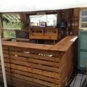 Bar maken van pallets