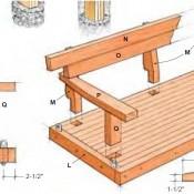 Border maken van hout
