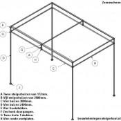 Steigerbuis zonnescherm doe het zelf bouwtekening.
