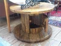 ronde kabeltrommels van hout zijn heel leuk om er. Black Bedroom Furniture Sets. Home Design Ideas